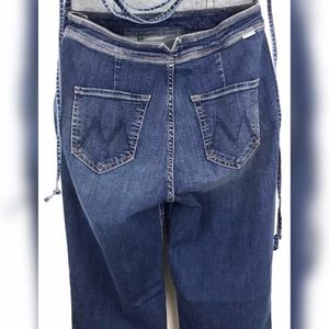 12ce1a7a537 MOTHER Pants - Mother Denim Tie Back Jumpsuit Overall Jumper